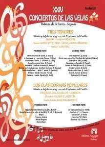 Avance XXIV Conciertos de las Velas 2015 (Clic para ver en grande)