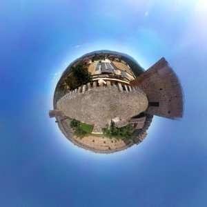 Foto 360º, Planeta o Weeplanet. Imagen realizada con smartphone y aplicaciones.